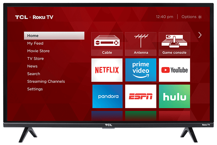 The Right TV TCL 32S327 32-Inch 1080p Roku Smart LED TV